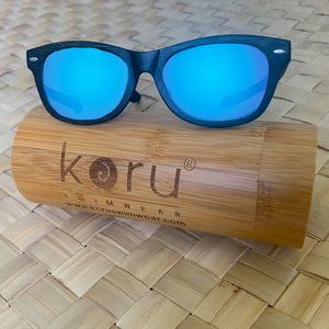 Koru Aucklander Bamboo Floating Sunglasses with Bamboo Case - 321Kiteboarding & Watersports
