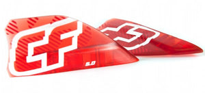 CrazyFly Razor Fins Red 5.0cm (set of 4) - 321Kiteboarding & Watersports