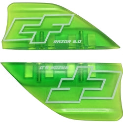 CrazyFly Razor Fins (set of 4) - 321Kiteboarding & Watersports