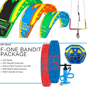 2017 F-One Bandit X Complete Package - 321Kiteboarding & Watersports
