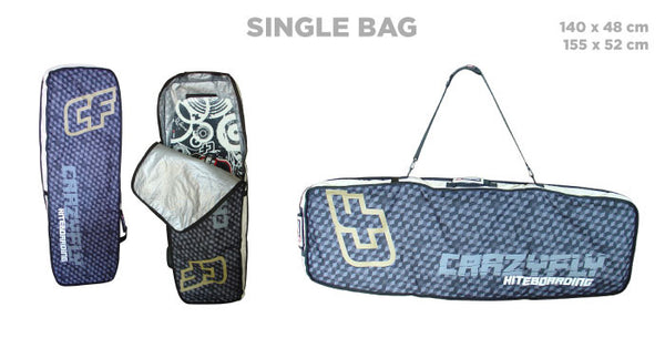 Crazyfly Single Board Bag - 321Kiteboarding & Watersports