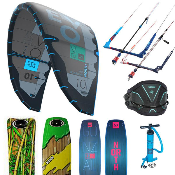 2018 North Package Complete - 321Kiteboarding & Watersports