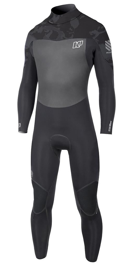 2017 NP Mission Wetsuit Back Zip 4/3 - 321Kiteboarding & Watersports