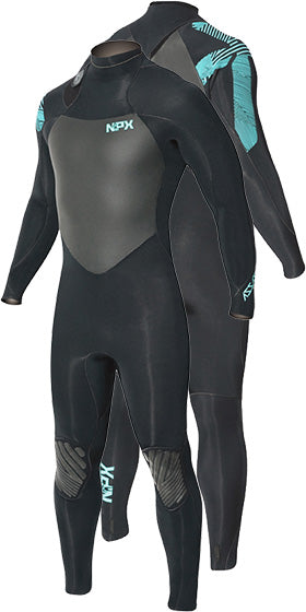 NPX Assassin 4/3mm Wetsuit - 321Kiteboarding & Watersports
