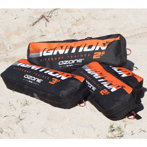 Ozone Ignition V2 3-Line Trainer with Bar - 321Kiteboarding & Watersports