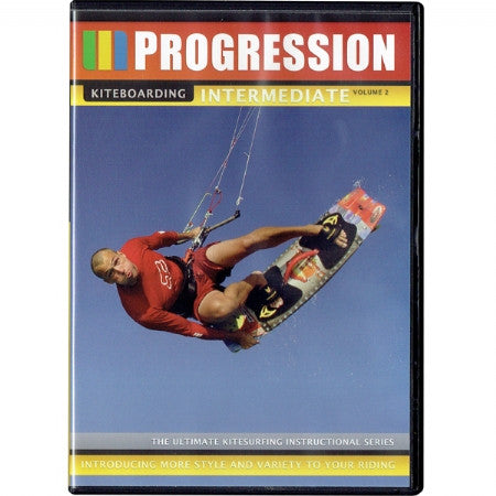 Progression Intermediate Volume 2 Dvd - 321Kiteboarding & Watersports