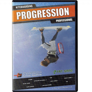 Progression Professional Dvd - 321Kiteboarding & Watersports