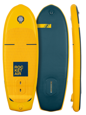 F-One Rocket AIR SUP inflatable Wing Foilboard V2 - 321Kiteboarding & Watersports