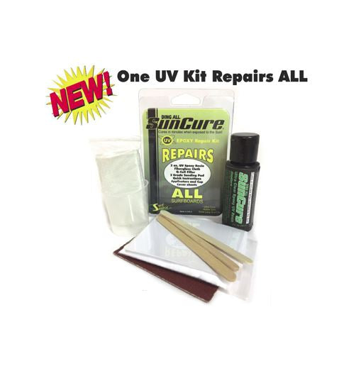 Ding All with SunCure Epoxy Repair Kit - 321Kiteboarding & Watersports