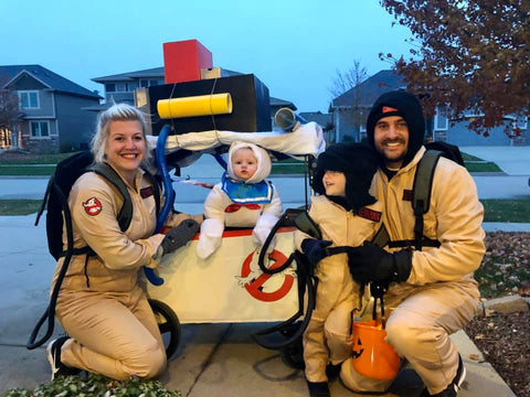 stroller wagon ghost busters costume