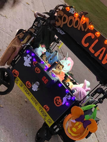 claw game stroller wagon costume