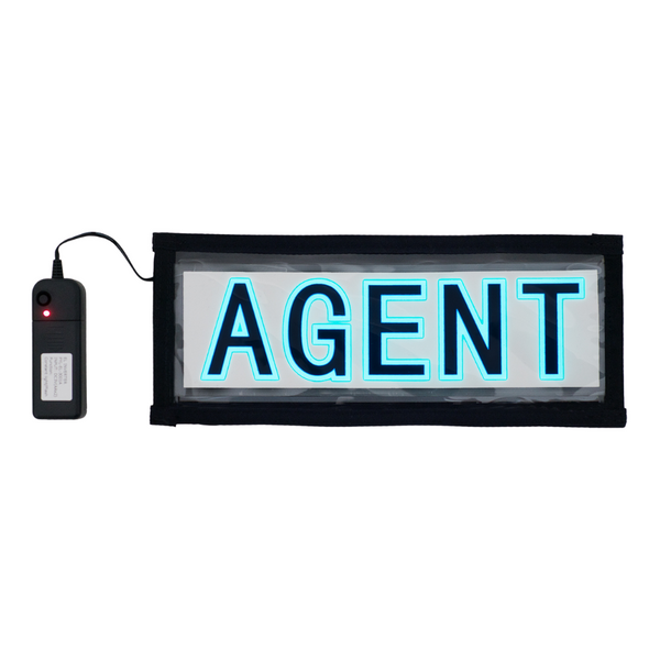 LIGHT UP SIGNS - HORSE, SHERIFF, AGENT
