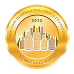 New York International Spirits Competition 2013 Double Gold Winner