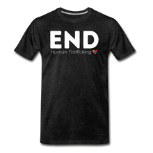Load image into Gallery viewer, END Human Trafficking T-Shirt - charcoal gray
