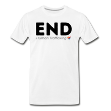 Load image into Gallery viewer, END Human Trafficking T-Shirt - white
