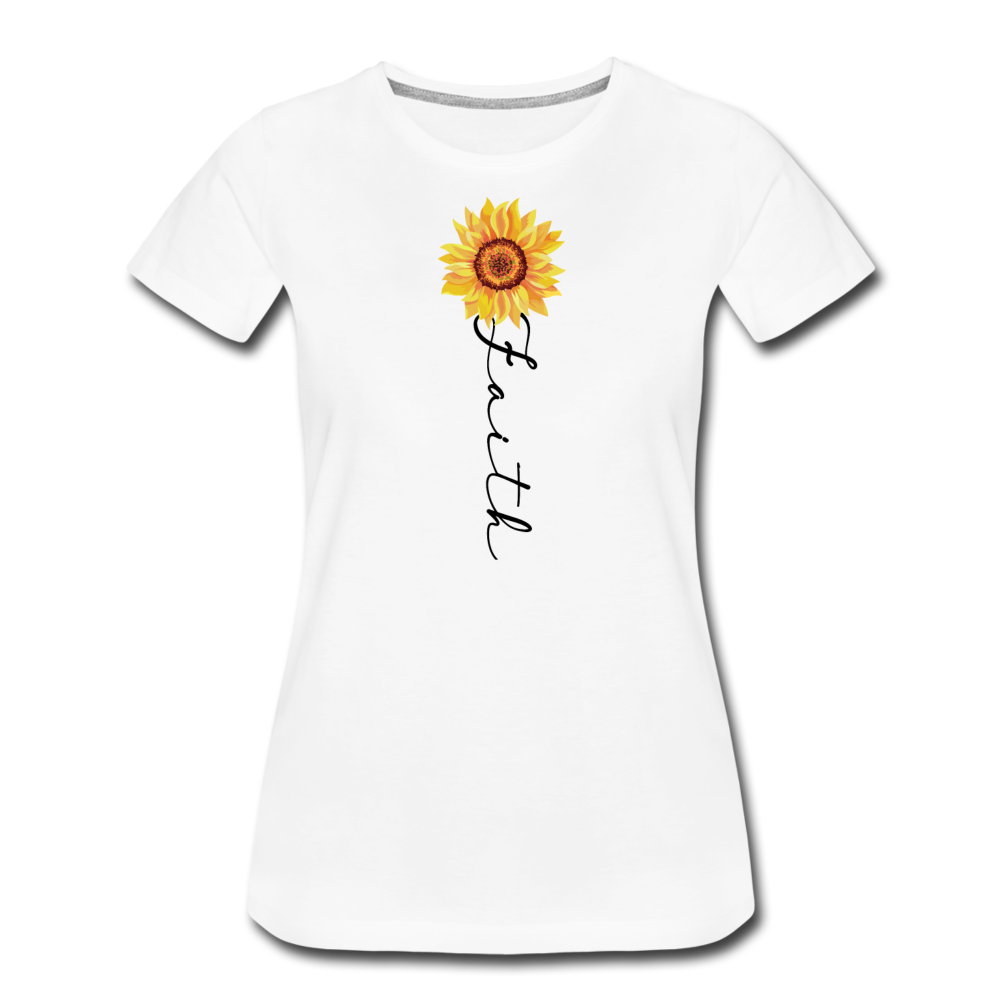 Faith T-Shirt - white