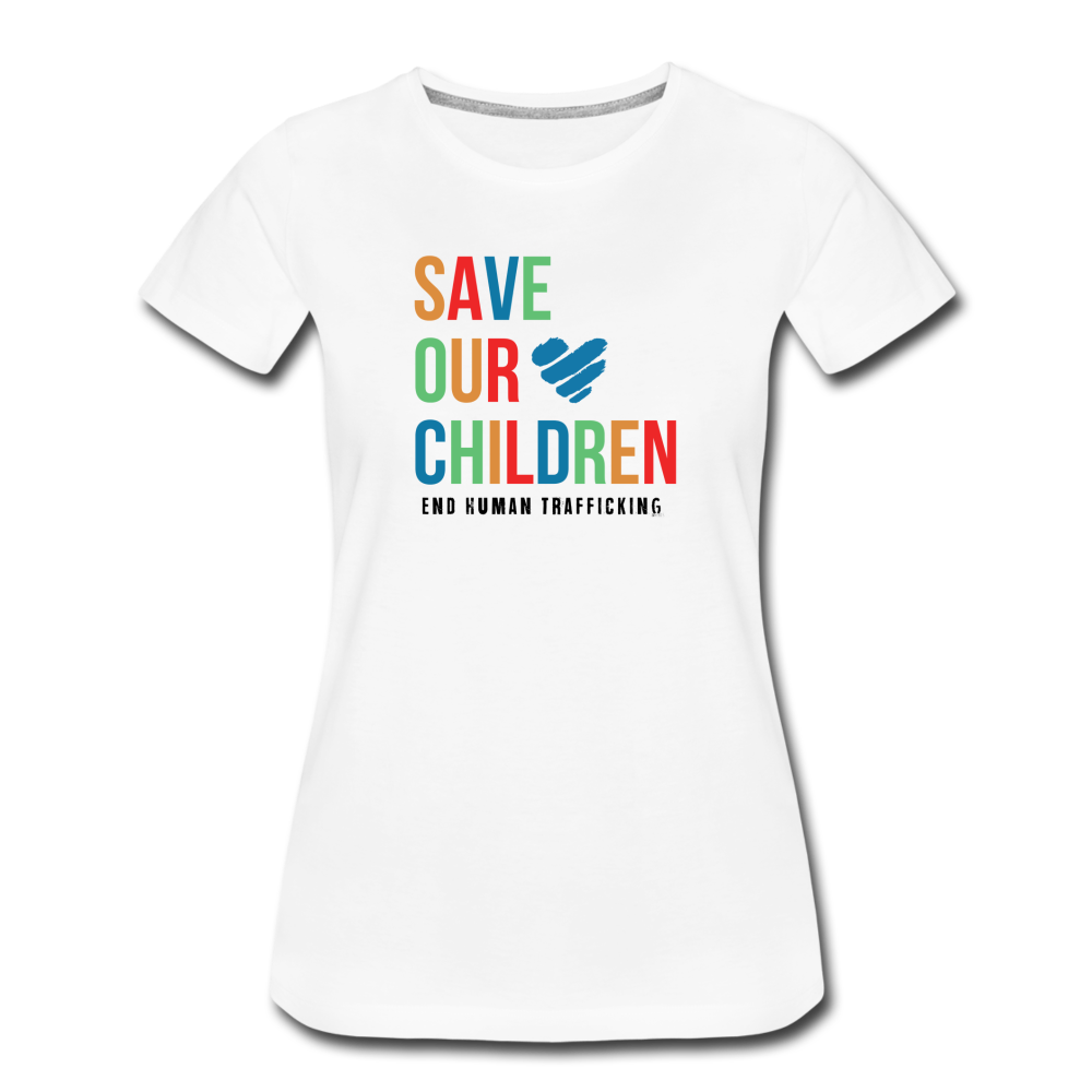 Save Our Children T-Shirt - white