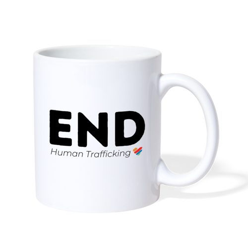 END Human Trafficking - white
