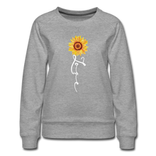 Load image into Gallery viewer, Love Sweatshirt - heather gray
