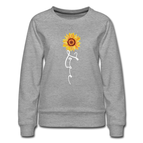 Love Sweatshirt - heather gray