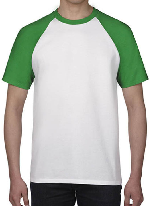 Men's Daily Active Cotton T-shirt - Solid Colored Round Neck Black / Short Sleeve / Long