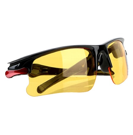 YOSOLO Car Night-Vision Glasses Driver Goggles Anti Glare Protective Gears Sunglasses Night Vision Driving Glasses Accessories