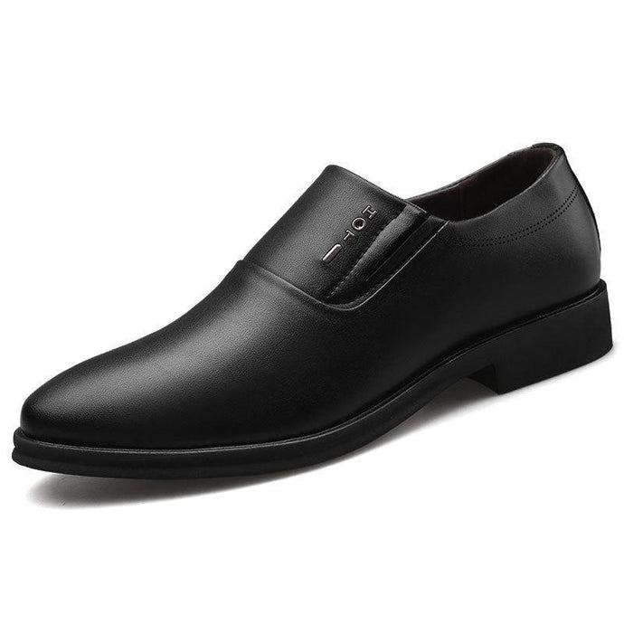 Man Business Affairs Correct Dress Leather Shoes Punch Ventilation Male Shoe Hollow Out Single