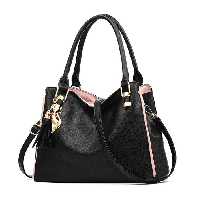 SMOOZA Women Messenger 2020 New Tide Female Top-handle Bag Girls Simple Shoulder Bags Fashion Women Handbags For Lady Totes