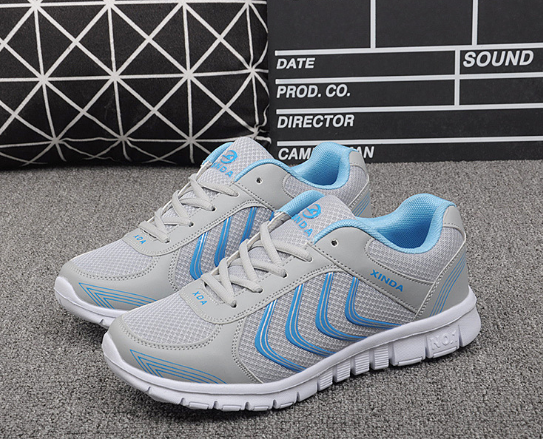 Women Sneakers Shoes White Colors Women Casual Shoes Laces Tenis Feminino Fast delivery mesh shoes