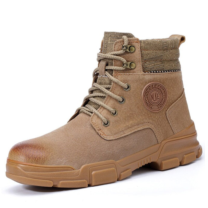 Winter Boots Steel Toe Safety Boots