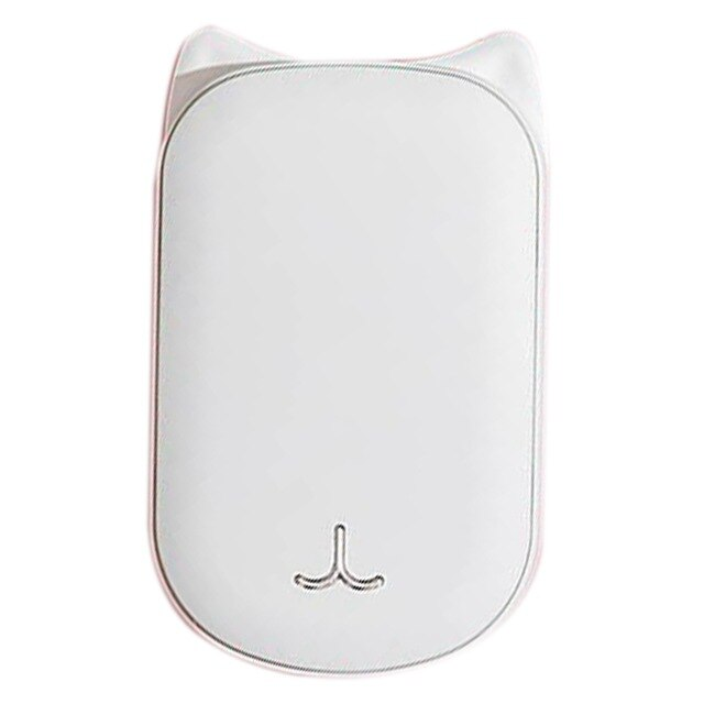 Cute USB Rechargeable Hand Warmer and 3600Ma Power Bank 5V Mini Portable Travel Handy Long-Life Pocket Hand Warmer