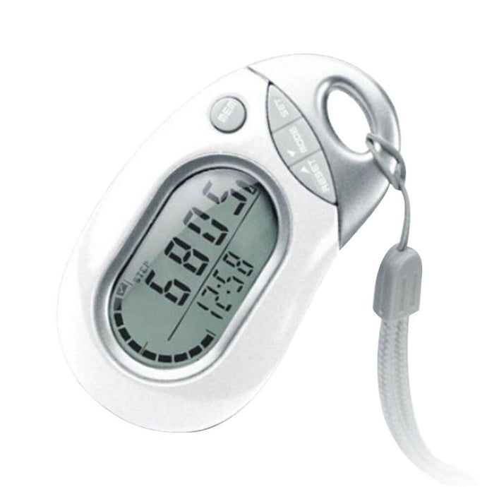 Professional Portable Digital LCD Pedometer Outdoor Sports Walking Running Step Counter Meter