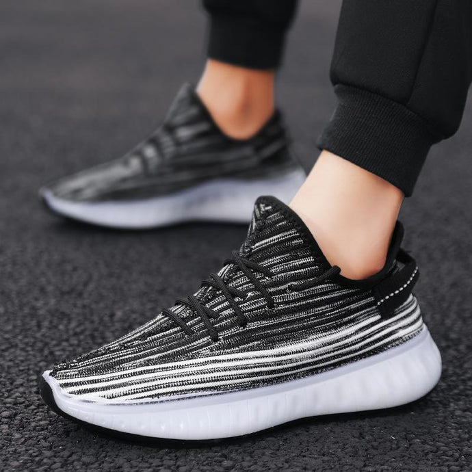 Combination of flying coconut shoes men's  jelly-soled men's shoes sports casual running shoes