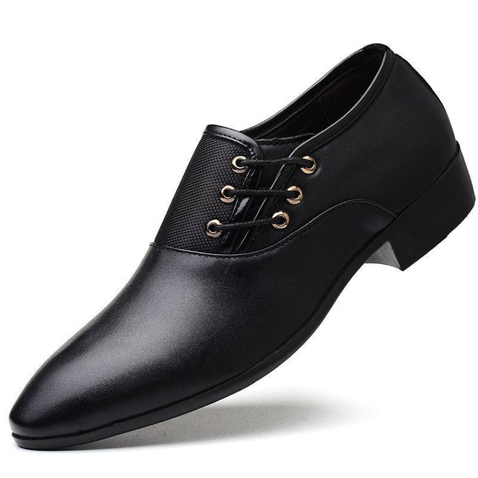 Man Leather Shoes 2020 Business Affairs Correct Dress Leather Shoes Male The Most Code 46 Joker Male