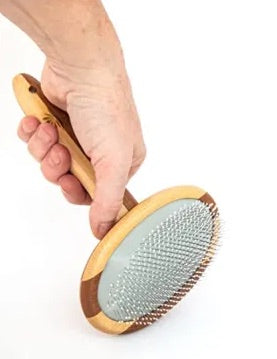 Brosse pour animaux en bambou - BamBoutic