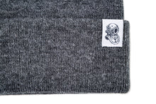 Load image into Gallery viewer, KNIT BEANIE – HEATHER GREY