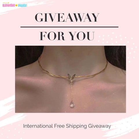 🧚‍♀️🧚‍♀️ Butterfly Necklace Giveaway 🦋🦋