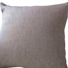 Load image into Gallery viewer, Linen Square Throw Flax Pillow