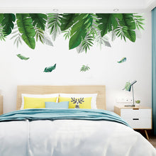 Load image into Gallery viewer, Big Leaves Green Plant Wall
