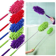 Load image into Gallery viewer, Telescopic Microfibre Extendable Cleaning Duster