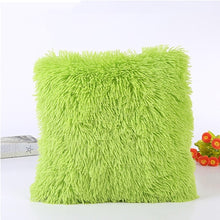 Load image into Gallery viewer, New Solid Soft Fur Plush Cushion