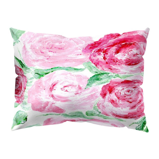 Print Polyester Square Pillowcases