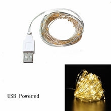 Load image into Gallery viewer, 1m 2m 3m Copper Wire LED String Lights Christmas Decorations for Home Garland Bottle Stopper for Glass Craft New Year Decoration