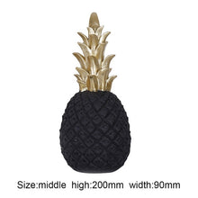 Load image into Gallery viewer, Nordic Modern Golden Pineapple Ornament