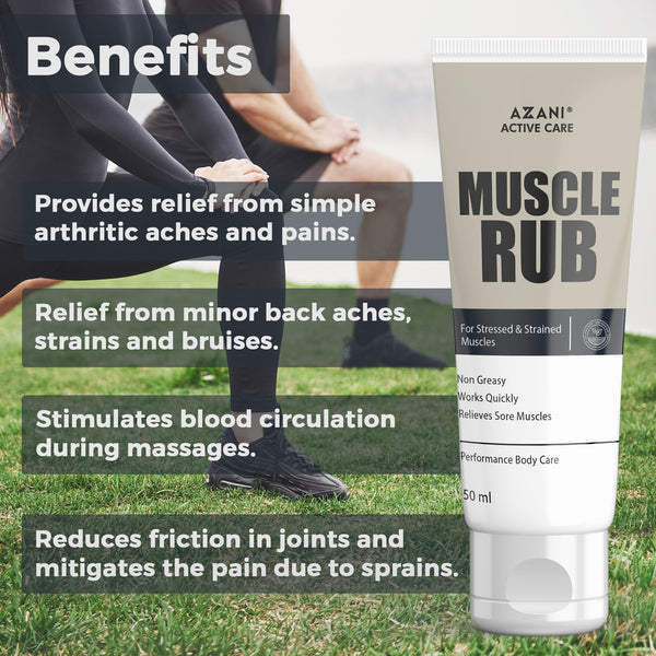 Anti-Chafing Cream + Muscle Rub + Sunscreen