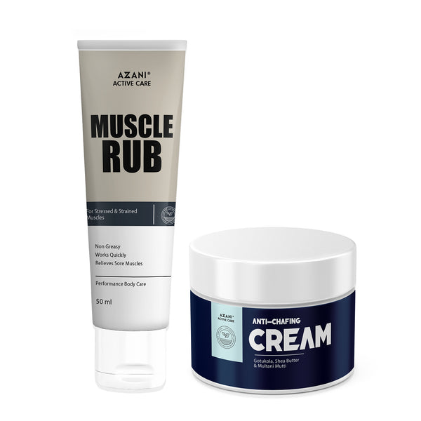 Anti-Chafing Cream + Muscle Rub