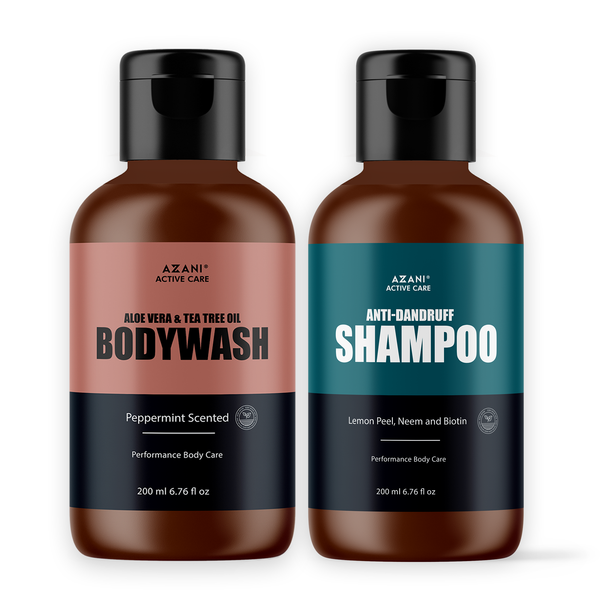 Body Wash + Anti Dandruff Shampoo