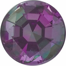 Load image into Gallery viewer, 3.5 mm Round Faceted AA Alexandrite