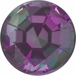 3.5 mm Round Faceted AA Alexandrite