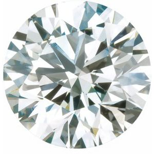 2 mm SI1-SI2 GH Round Lab-Grown Diamond